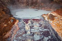 Paint Pot (Atlapix) Tags: geothermal hotspring mudpool mudpot paintpot lakaskörð hengilssvæðið þverárdalur nature colorful clay swiceland iceland europe landscape
