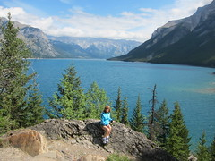 Blue Yonder .... (Mr. Happy Face - Peace :)) Tags: albertabound art2017 cans2s hiking forest rockies banff canada nature lakes skies scenery wtbw patriciabechthold quote happycanada150