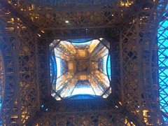Eiffel Tower .... Paris (France) (KubalaŻca) Tags: wieża eifla tower paris france paryż francja
