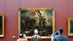 Delacroix, Liberty Leading the People with viewers