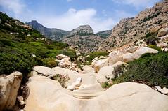 Hiking to Seychelles beach, Ikaria / Greece (ANJCI ALL OVER) Tags: greece greekislands ikaria aegean ελλάδα ελληνικάνησιά ικαρία αιγαίο northaegean