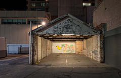 Quack Nights (Andrew_Dempster) Tags: sa night rubberduck streetart nightshot publicparking australia urbanart nightphotography urban nightscape southaustralia adelaide garage au