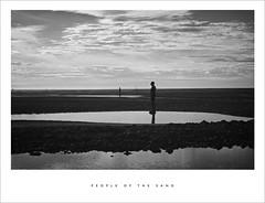 People of the sand (Parallax Corporation) Tags: anotherplace crosby antonygormley merseyside mono blackwhite ironmen seaside sand seascape