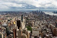 New York City - New York, USA (Dutchflavour) Tags: newyorkcity newyork nyc flatiron building oneworldtradecenter worldtradecenter wtc manhattan midtown midtownmanhattan lowermanhattan skyline skyscraper tower architecture empirestatebuilding observatory highanglepoint day cityscape citylandscape