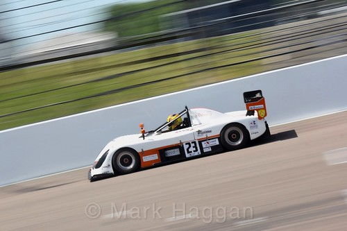 Jon-Paul Ivey in the Excool BRSCC OSS Championship at Rockingham, June 2017