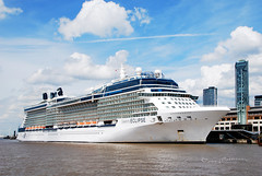 CELEBRITY ECLIPSE (tommypatto : ~ IMAGINE.) Tags: liverpool ships rivermersey cruiseships