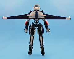 Bluebird / Bayley 006 (E-Why) Tags: lego robot girl fembot gynoid moc mech android jet creator toy