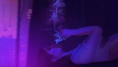 Neon Smoke.. (.❤.ρµmþkïñ.❤.) Tags: neon neonlights purple pink smoke joint marijuana pumpkinwiskee secondlife inbed sleep relax gdragon city citylights