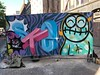 Spuistraat Amsterdam (PressOne) Tags: pressone doerak character canvas colors funky face fun spuistraat amsterdam streetart spraypaint art graffiti