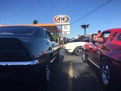 A&W cruise (hartmannfirearmsllc) Tags: awesomeburger corvette vet usmc semperfi camero 69 cruise aw