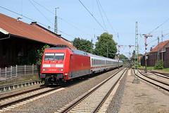 DB 101 075 Lingen (Peter Schokkenbroek) Tags: db adtranz baureihe101 ic lingen emslandstrecke kbs395