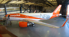 IMG_0097_Panorama (Roger Brown (General)) Tags: a320 neo new engine option is easyjets latest purchase their fleet 300th airbus purchased by easyjet has leap 1a leading edge aviation propulsion engines fitted collected from delivery centre toulouse flown via orly back luton 14th july 2017 orange roger brown canon sx610 hs