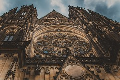 St. Vitus Cathedral (Chizury) Tags: ifttt 500px sky city travel religion church blue light clouds europe old tourism urban architecture summer building beautiful art prague cathedral day outdoors landmark czech republic historic low angle view no person