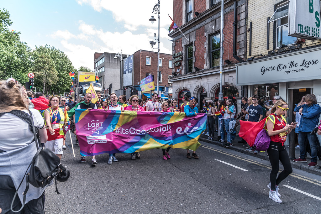 LGBTQ+ PRIDE PARADE 2017 [ON THE WAY FROM STEPHENS GREEN TO SMITHFIELD]-129965