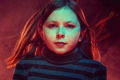 BURN (Jeffrey Deal) Tags: daughter family familyphotos familyphotography fire smoke girl child kid kids flame cinematic portrait burn portraiture
