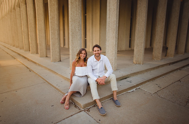 Amy & Ben // Detroit, Michigan // Detroit Institute Of Arts // 2017 // Engagement Session