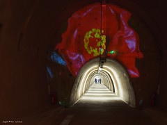 Floraart exhibition underground tunnel7