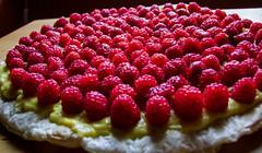 Tarte aux framboises (Grand-Pappà...) Tags: framboise fruits potager dessert fragosta tarta auvergne auvèrnha hauteloire hautesterres lobeç margeride marjarida massifcentral