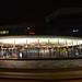 Night at Hyllie station