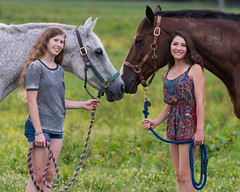 River and Vincent (vtcollins) Tags: horses horsephotography family pleasant hill farm advance camp 2017 hillsborough north carolina