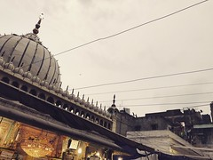 The Comforting Evening Lamp Under an Overcast Sky at the Sufi Shrine of Hazrat Nizamuddin Auliya in Delhi (Mayank Austen Soofi) Tags: delhi the comforting evening lamp under an overcast sky sufi shrine hazrat nizamuddin auliya