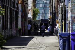 A pause in my walk (aerojad) Tags: eos canon 80d dslr 2017 city urban art artinpublicplaces streetart publicart mural murals graffiti vacation travel wanderlust graffitialley toronto canada vibrant colorful