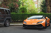 Game of Size (Beyond Speed) Tags: lamborghini huracan mansory mercedes g63 amg supercar supercars car cars carspotting nikon v8 v10 orange black tuning automotive automobili auto london knightsbridge combo