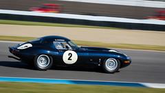 #2 StevenDavison 1962 JaguarE.TypeCoupe-2 (rickstratman26) Tags: car cars motorsport motorsports canon racecar racecars racing indianapolis motor speedway svra vintage historic jaguar e tpe panning