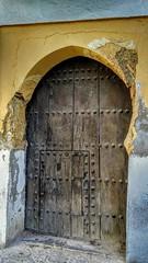 Un pedazo de historia. Gracias Souto! (aliciap.clausell) Tags: granada puerta albaycin artesania madera door andalucia aliciapclausell historia