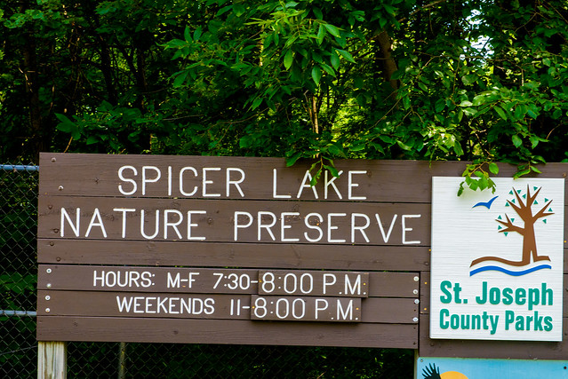 Spicer Lake Nature Preserve - July 4, 2017