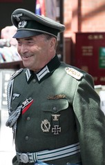 The Commandant. (Adrian Walker.) Tags: elements people 1940s reenactments german uniform soldier officer kidderminster railway canon80d tamron18270