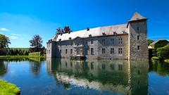 Castle Annevoie - 3271 (YᗩSᗰIᘉᗴ HᗴᘉS +6 500 000 thx❀) Tags: castle château annevoie belgium belgique wallonie namur europa europe water hensyasmine jardinsdannevoie châteaudannevoie landscape refraction reflexion eau 7dwf