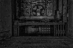 Pennywise, is it you? (michael_hamburg69) Tags: lostplace offthemap abandonedplace urbanexploration urbex phototourmit3daybeard3tagebart verfall decay beautyofdecay textilindustrie textilfabrik garmentfactory industry lastenfahrstuhl fahrstuhl freightelevator goods lift elevator stephenking es it neuverfilmung roman movie clown