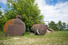 And now... for some rust... (Photo-Bytes) Tags: boilers canada heclaisland manitoba sawmill