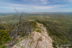 Below the Summit (kevin-palmer) Tags: heartmountain cody wyoming absarokamountains june spring summer nikond750 afternoon tokina1628mmf28 scenic view vista sunny blue sky clouds