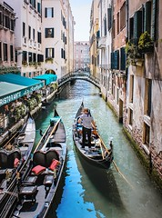 Traffic (Petricor Photography) Tags: city street water boat river travel italy tourism tourist urban architecture bridge building venezia canon italia canal outdoors gondola gondolier transmit no person venetian transportation system canonpersonalconnection