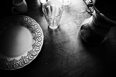 morning (s_inagaki) Tags: morning plate glass coffee snap
