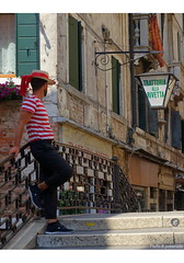 From Venice .... (BE'N 59. Street photographer) Tags: venise venesia venice gondolier