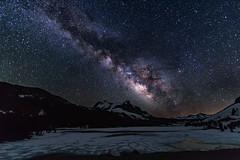Starlight over Tioga Lake (el.merritt) Tags: canon14 easternsierra hwy120 june milkyway monocounty outdoor starlight stars summer tiogalake emphoto41 ice landscape