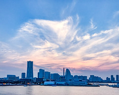 Yokohama twilight (shinichiro*@OSAKA) Tags: 横浜市 神奈川県 日本 jp 20170708img8094 2017 crazyshin appleiphone7plus iphone july summer yokohama kanagawa japan 35053786554 candidate