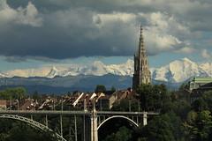 Berner Dreigestirn Eiger ( BE - 3`970 ) - Mönch ( BE-VS - 4`107m ) - Jungfrau ( BE-VS - 4`158m ) mit Jungfraujoch dazwischen ( Berg montagne montagna mountain ) in den Berner Alpen - Alps im Berner Oberland im Kanton Bern und Wallis - Valais der Schweiz (chrchr_75) Tags: christoph hurni chrchr chrchr75 chrigu chriguhurni chriguhurnibluemailch bern berne berna bärn bundesstadt zähringerstadt unesco welterbe stadt city ville altstadt hauptstadt schweizer albumstadtbern meinbern kantonbern stadtbern シティ by 城市 città город stad ciudad schweiz suisse switzerland svizzera suissa swiss sveitsi sviss スイス zwitserland sveits szwajcaria suíça suiza albumdreigestirneigermönchjungfrau dreigestirn eiger mönch jungfrau alpen alps berg mountain montagne
