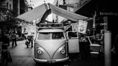 VW Cafe (Ross Major) Tags: vw cafe rundle mall adelaide street bw south australia
