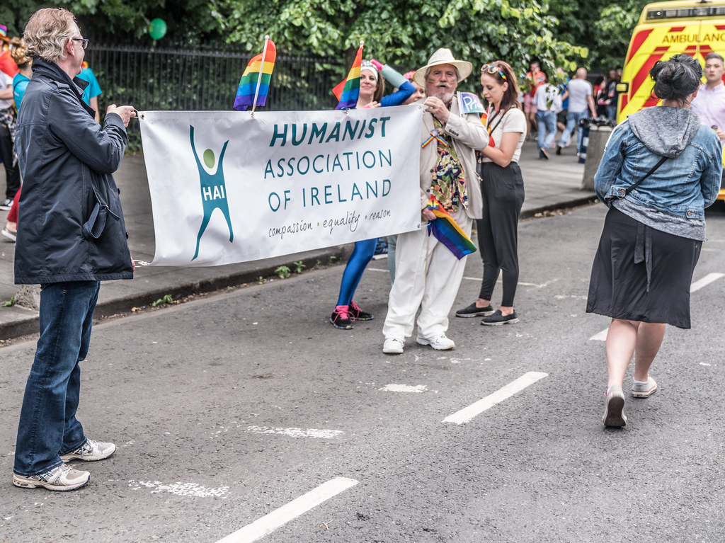 LGBTQ+ PRIDE PARADE 2017 [STEPHENS GREEN BEFORE THE ACTUAL PARADE]-129764