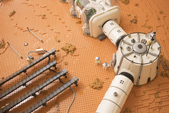 Arsia Prime | 3 (Ryan Howerter) Tags: lego mars colony settlement greenhouse vegan rover flesh nougat exploration science scifi