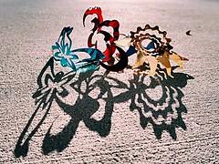 1 Twisted in Dusk (Robert Cowlishaw (Mertonian)) Tags: backyardphotolab robertcowlishaw markii canonpowershotg7xmarkii g7x powershot canon mertonian disfigured shadows shapes blue gothic sunset dusk gold red twist twisted 1 curvy cement concrete jagged crank sleek