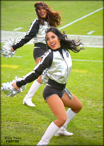 2016 Oakland Raiderette Allison