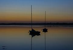Not so stormy (A Costigan (Inactive)) Tags: boats sunset dusk calm malahide canon eos ireland dublin