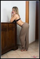 Martina in Location (torben84) Tags: gnoccasito martina girl glamour woman womanbeautiful beautiful bella bellezza boobs sexy sensual sedere seno perizoma portrait primopiano ragazza bra red black