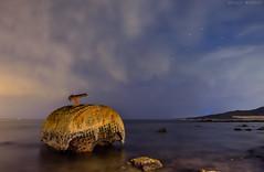 Vapor (sergio estevez) Tags: agua color cielo campodegibraltar estrechodegibraltar granangular sky largaexposición oxido paisaje playa marina nocturna rocas tokina1116mmf28 stars sergioestevez