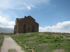 Cathedral of Ani (Alexanyan) Tags: ani kingdom armenian armenia orthodox christian apostolic eglise kirche chiesa church kars turkey sky